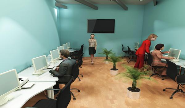 Estaciones de trabajo centro de negocios ouroffice